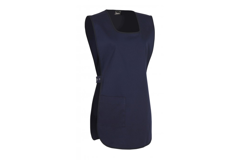 blouse chasuble de travail femme marine cotepro. Black Bedroom Furniture Sets. Home Design Ideas