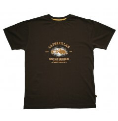 Tee shirt manches courtes Brun C-170 Caterpillar