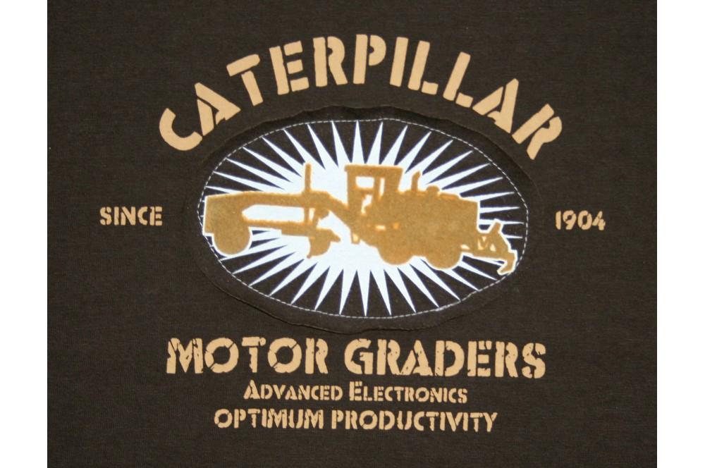 Tee shirt manches courtes Brun C-170 Caterpillar
