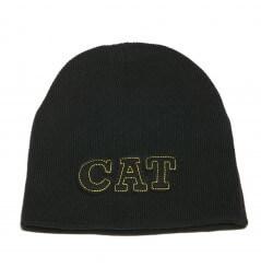 Bonnet brodé homme C-904 noir CAT