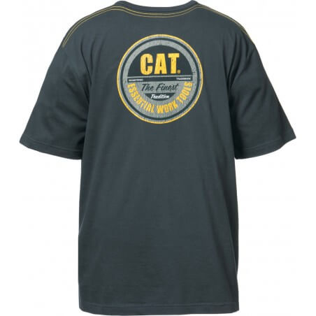 Tee Shirt manches courtes Graphite CAT