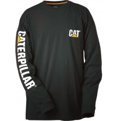 Tee shirt à manches longues banner Caterpillar