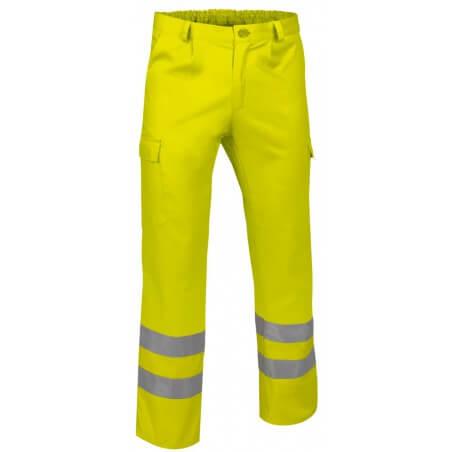 Pantalon de travail haute visibilité basique Train