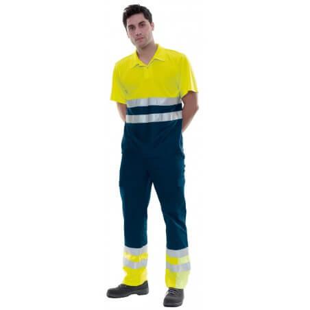 Pantalon de travail ambulancier réfléchissant