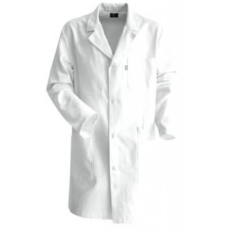 Blouse blanche de peintre ou de chimie en coton