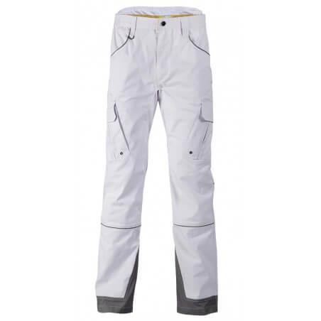 Pantalon de travail peintre btp blanc Antras NW