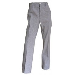 Pantalon de cuisine coton classique Morteau LMA