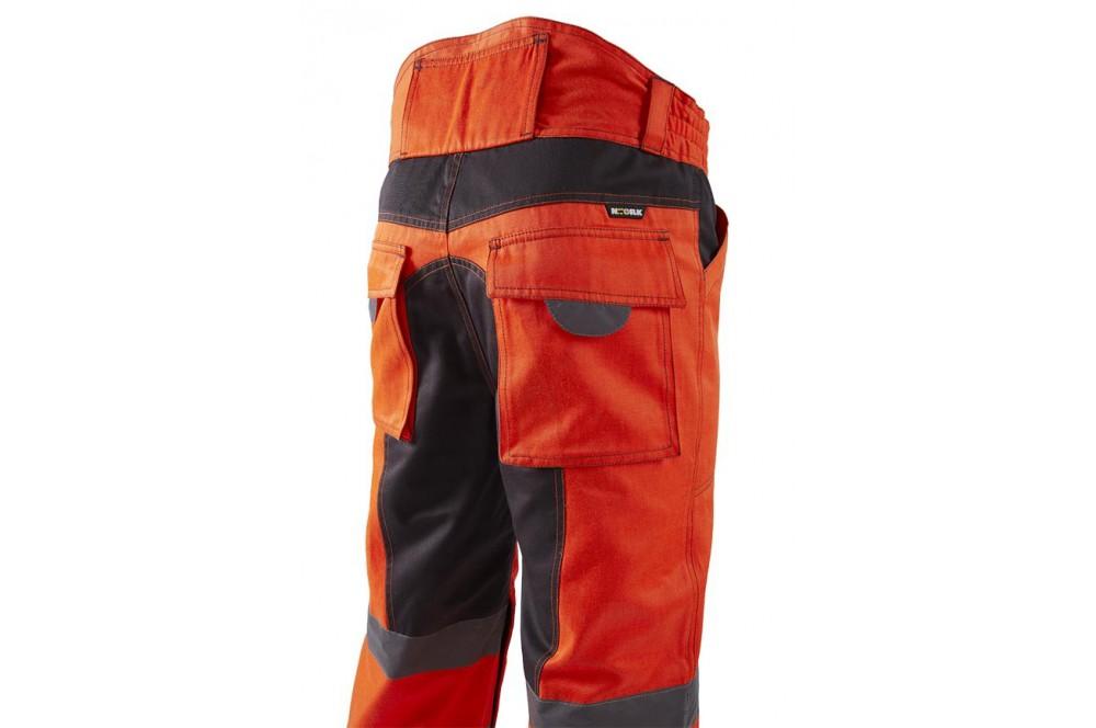 1782727427a Pantalon de haute visibilite Bellus NW jaune ou orange - Cotepro