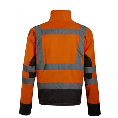 Veste de haute visibilite Asfur NW jaune ou orange