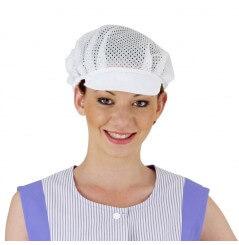 Casquette alimentaire Gavroche Filet blanc
