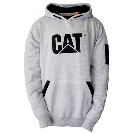 Sweat shirt à capuche homme gris 1910812 Caterpillar