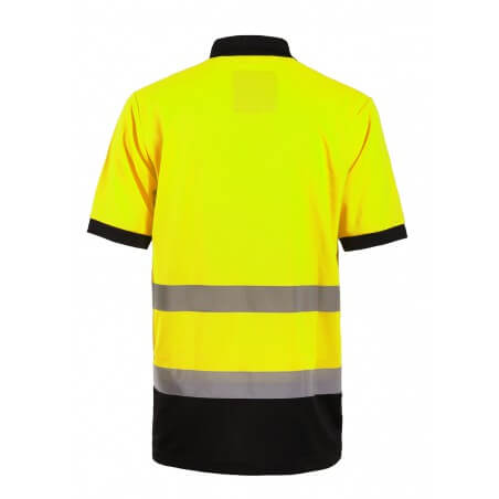 Polo haute visibilité jaune ou orange Apollo North Ways