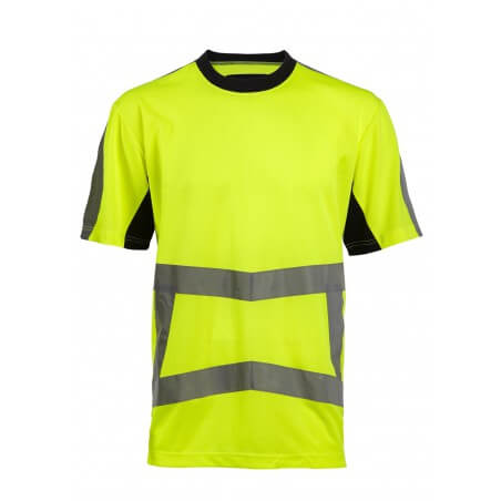 Tee shirt haute visibilité jaune ou orange Armstrong North Ways
