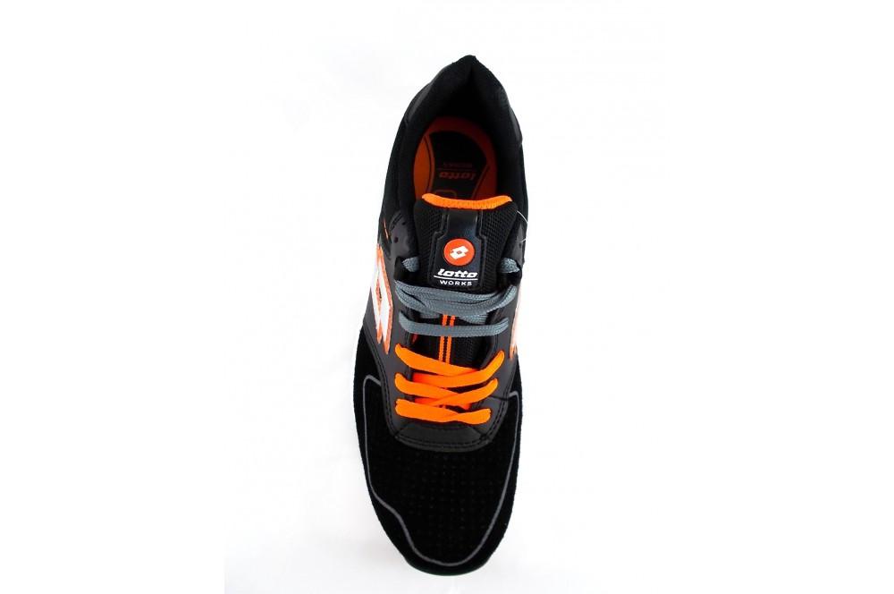 chaussure de s curit basket black street s1p lotto works cotepro. Black Bedroom Furniture Sets. Home Design Ideas