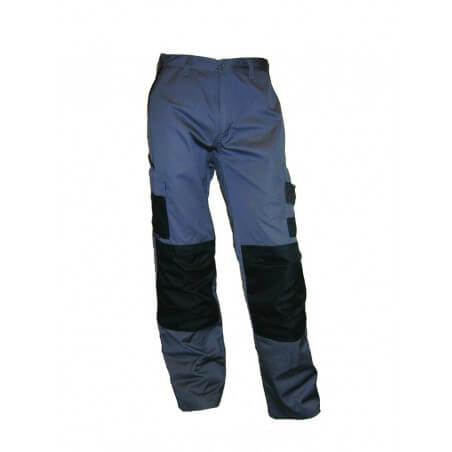 Pantalon de travail homme résistant free2be gris