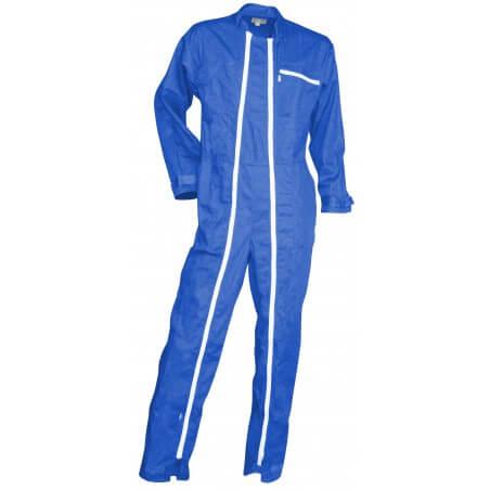 Combinaison de travail homme bleu bugatti Crocq LMA