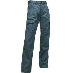 Pantalon de travail multipoches vert US Scie LMA