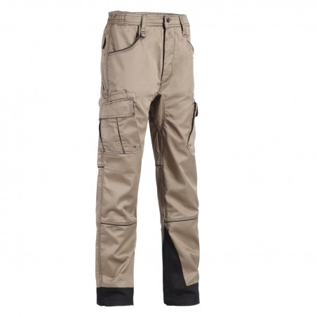 Pantalon de travail homme résistant Antras beige North Ways