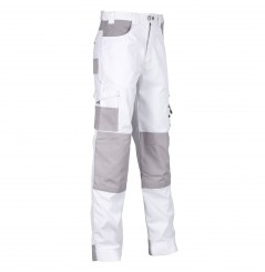 Pantalon de travail peintre Albatre blanc North Ways