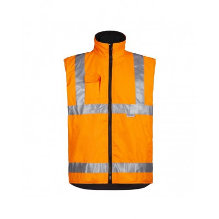Gilet de signalisation haute visibilité Wiley orange North Ways