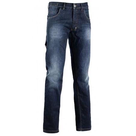 Pantalon de travail jean delavé Stone Diadora Utility