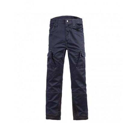 Pantalon de travail bleu marine déperlant Antras North Ways
