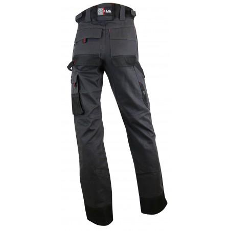 Pantalon de travail avec poches genoux Argile LMA