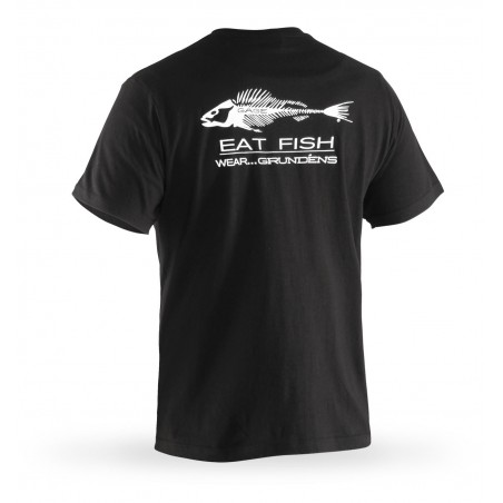 Tee shirt manches courtes Eat Fish Grundens