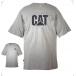 Tee shirt manches courtes trademark CAT