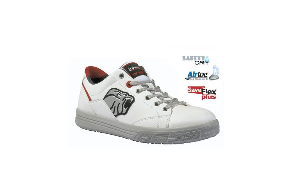 Basket de securite blanche dover s3 upower cotepro - Chaussure de securite blanche ...