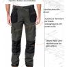 Pantalon de travail Trademark CAT coupe slim Caterpillar