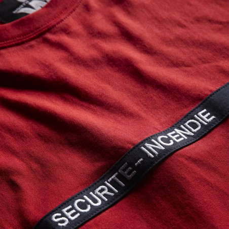 Tee shirt agent de securite incendie Bond North Ways