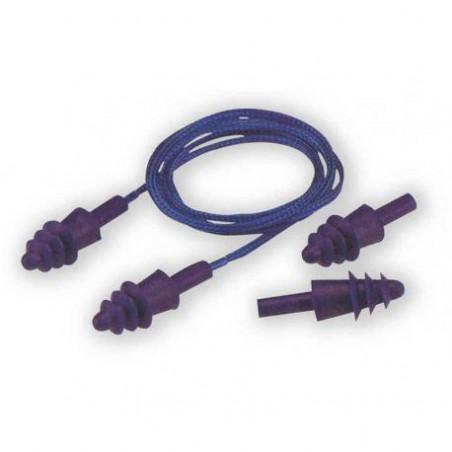 Protection auditive bouchons reutilisables Herock