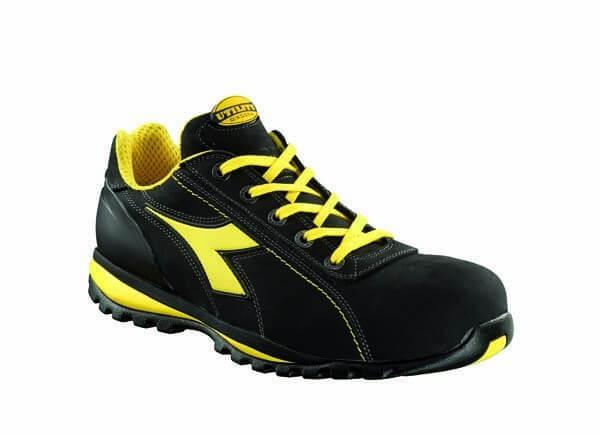 Chaussures de sécurité basses Nubuck noires DIADORA GLOVE