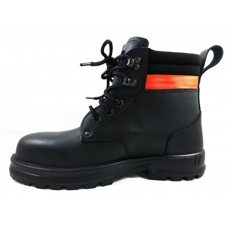 Chaussure de sécurité BTP Monster black Gaston Mille