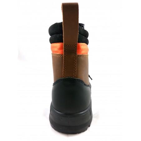 Chaussure de sécurité BTP Monster marron Gaston Mille