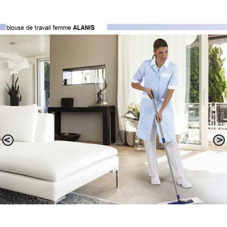 Blouse de travail femme manches courtes Alanis