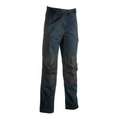 Pantalon de travail poches genoux Mars Navy Herock