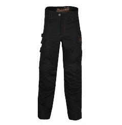Pantalon de travail multitravaux Harpoon 3 Noir Bosseur