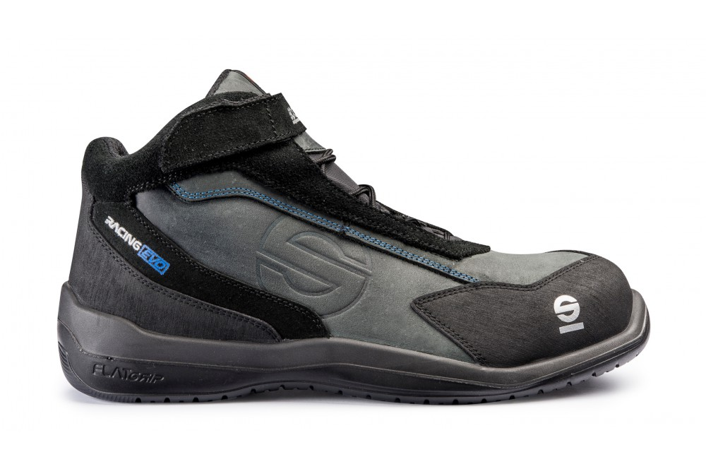 Chaussure de sécurité semi montante racing Evo noir S3 Sparco