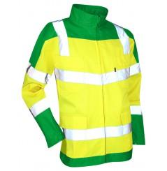 Blouson de haute visibilité Urgence LMA vert jaune