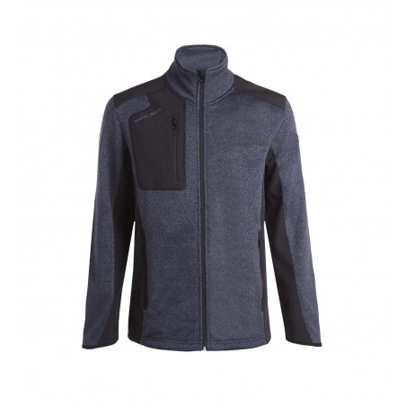 Veste de travail maille molletonnée Arsenal Gris North Ways