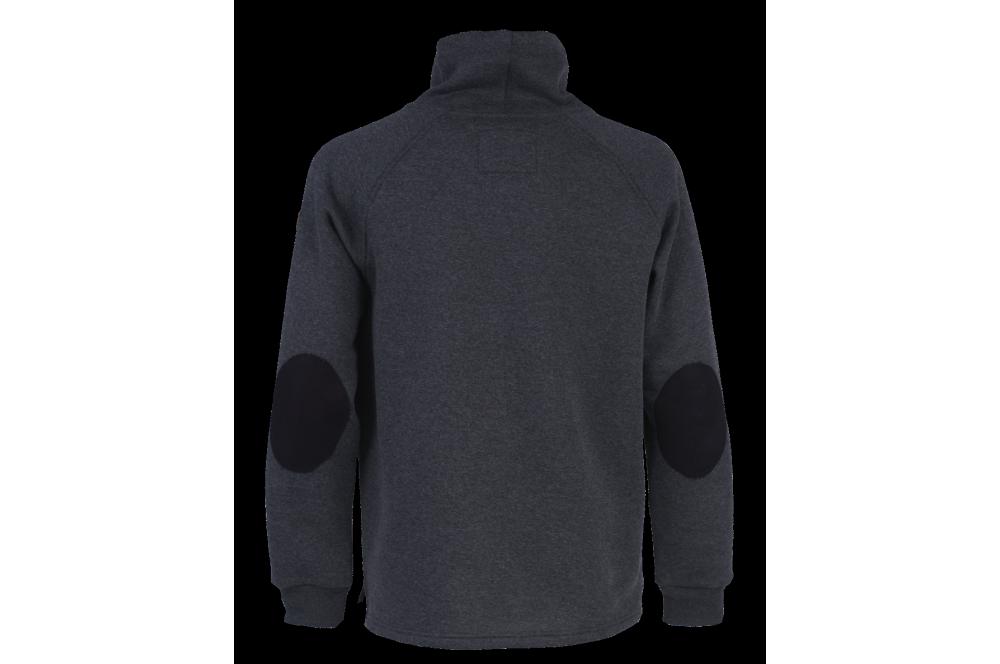 ea8be3af9593 Sweat shirt de travail col châle Huron Bosseur - Cotepro
