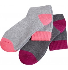 Lot de 2 paires de chaussettes de travail femme North Ways