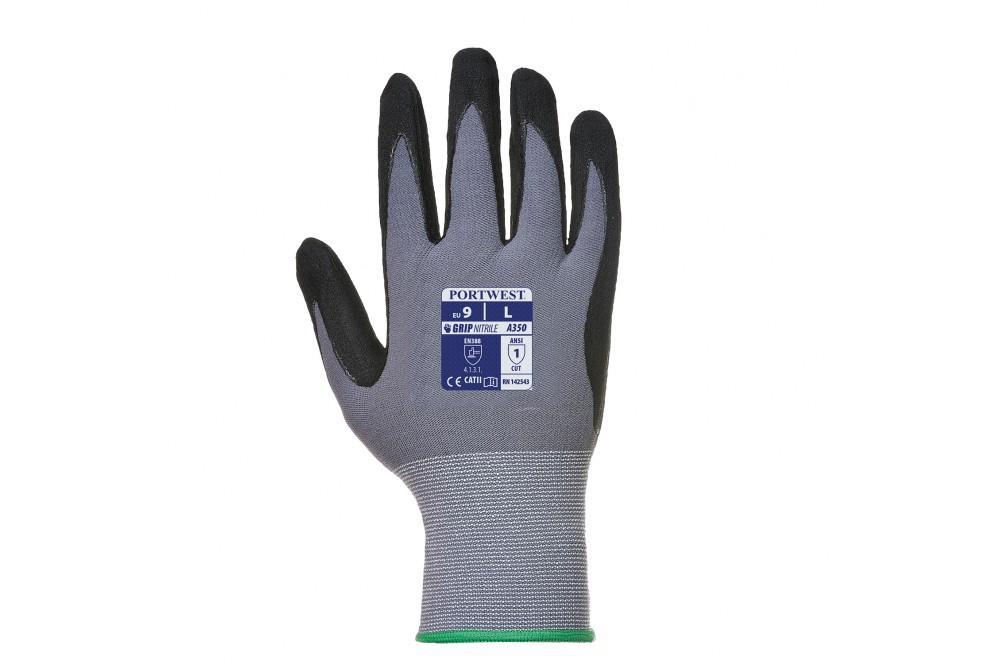 10 paires de gants de travail multitravaux dermiflex Portwest