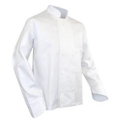 Veste de cuisine coton blanche Poisson LMA