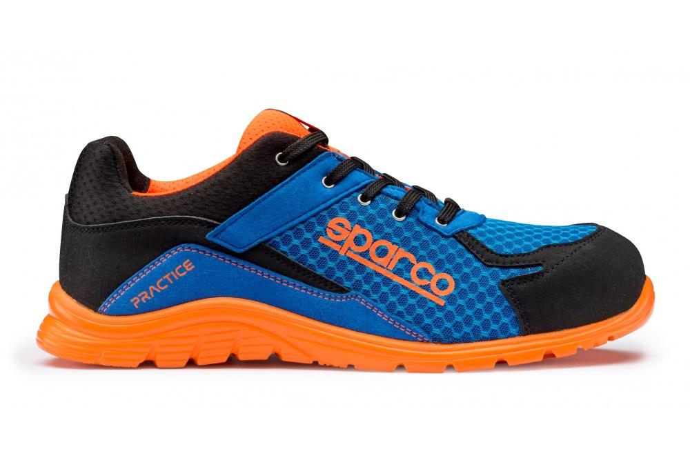 c3a2236a9e8c Basket de sécurité practice S1P bleu orange Sparco - Cotepro