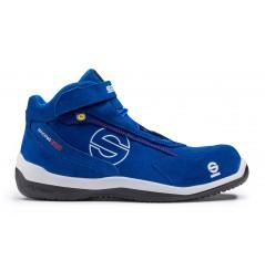 Chaussure de sécurité semi montante racing bleu S3 Sparco