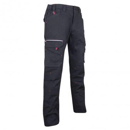 Pantalon de travail battle basalte canvas LMA
