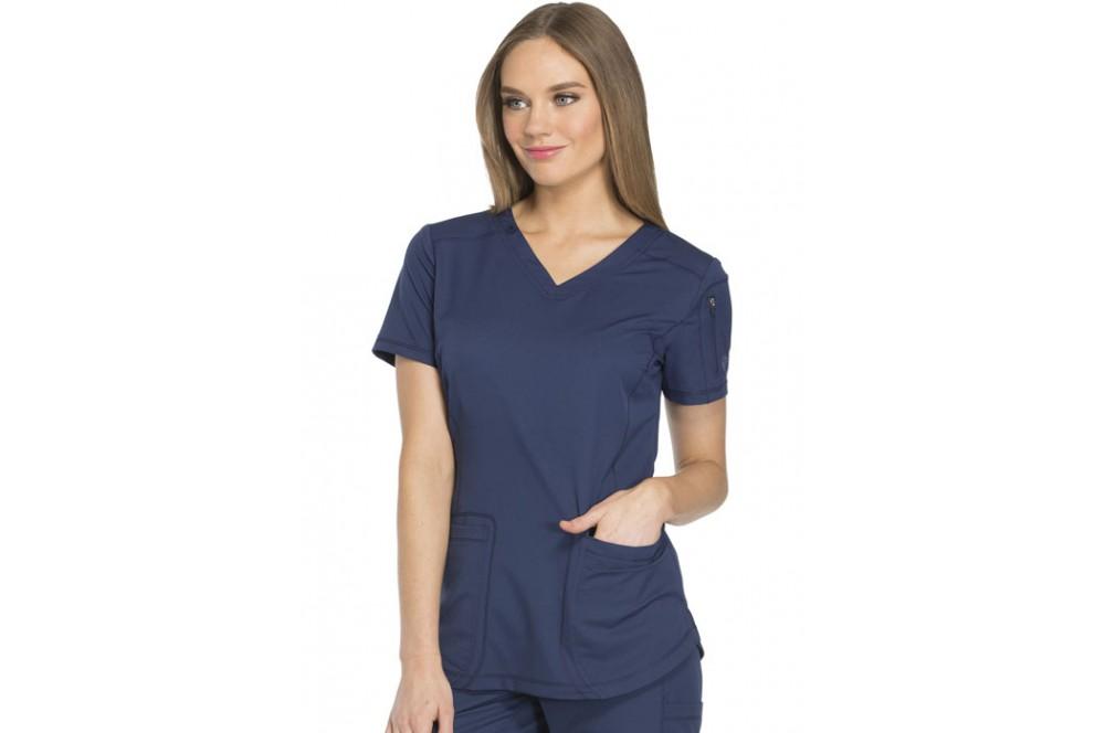 11dcda95d63b3 Tunique médicale femme moderne marine Dickies - Cotepro
